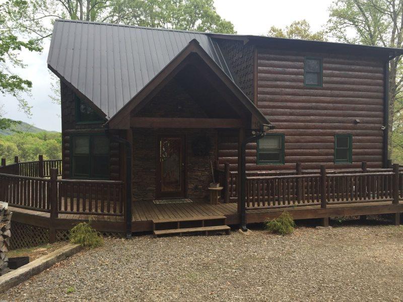 Wolf S Den Blue Ridge Cabin Rental Ocoee River Cabin Rental