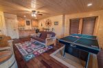 Dogwood Dream-Ocoee River Vacation Rentals-lower living areaWet Bar with Wine Cooler