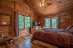 HOOKERS HIDEAWAY BLUE RIDGE CABIN RENTAL MASTER