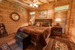 Fightingtown Creek Retreat - North Georgia Cabin Rental - Bedroom 3