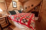 Fightingtown Creek Retreat - North Georgia Cabin Rental -bedroom 1