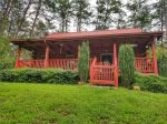 Holly Hill Ocoee River area cabin rental- exterior