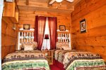 Holly Hill Ocoee River area cabin rental- bedroom 2