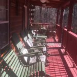 Holly Hill Ocoee River area cabin rental - porch