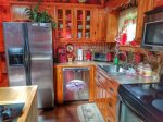 Holly Hill Ocoee River area cabin rental- kitchen