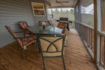Nottely River cabin rentals- Screened Porch
