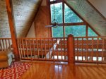 Ocoee River Area cabin rentals- Reading Nook
