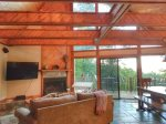 Ocoee River Area cabin rentals-Living area with smart tv