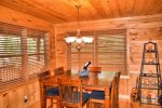 Snuggled Inn- Blue Ridge Cabin Rental- Kitchen