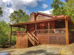 Snuggled Inn- Blue Ridge Cabin Rental- Ext