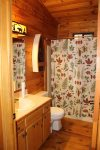 Bear Pause- Blue Ridge Cabin Rentals- Bathroom