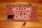 Bear Pause- Blue Ridge Cabin Rentals- Decorative detail