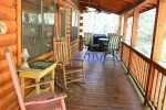 Bear Pause- Blue Ridge Cabin Rentals- Porch