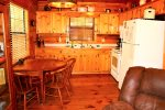 Bear Pause- Blue Ridge Cabin Rentals- Kitchen