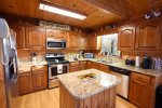 Dew Drop Inn- Blue Ridge-Kitchen with Granite Counters
