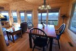 Mountain View Lodge-Blue Ridge Cabin Rentals- Dining