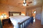 Mountain View Lodge-Blue Ridge Cabin Rentals-Master Bedroom 2
