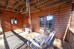 Mountain View Lodge-Blue Ridge Cabin Rentals- Deck