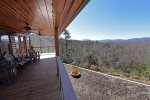 Mountain View Lodge-Blue Ridge Cabin Rentals- Long Range View
