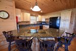 Mountain View Lodge-Blue Ridge Cabin Rentals-Kitchen