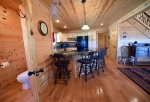 Mountain View Lodge-Blue Ridge Cabin Rentals- Kitchen