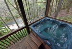 Above the River- Hot Tub