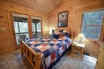 Above the River-Master Bedroom