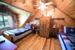 Knotty Pine Cabin Bedroom 2