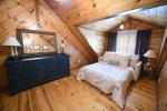 Knotty Pine Cabin Bedroom 3