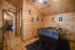 Knotty Pine Cabin Game Room