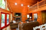 Ocoee River`s Edge- Bedroom