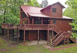 River's Edge-The Perfect Ocoee River Vacation Cabin