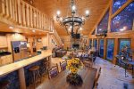 Lonesome Dove- Blue Ridge- Living Area