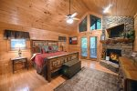 Lonesome Dove- Blue Ridge- Master Bedroom