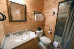 Lonesome Dove- Blue Ridge- Lower Level Bathroom