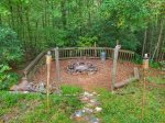 Camp Fire Pit-Ocoee River cabin rental