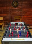 Foosball table-Ocoee River cabin rental