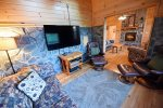 Blue Ridge Cabin Rentals-king br 2
