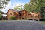 Blue Ridge Cabin Rentals-rear view