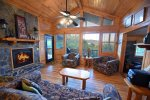 Blue Ridge Cabin Rentals-new stainless steel appliances