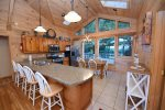 Blue Ridge Cabin Rentals-upper living area