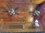 Blue Ridge Cabin Rentals- view of loft