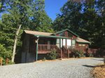 Time Out exterior- Blue Ridge Cabin Rental