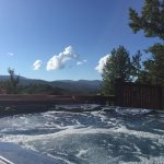 Time Out- Hot Tub View- Blue Ridge Cabin Rental