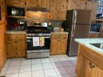 Time Out- Kitchen- Blue Ridge Cabin Rental