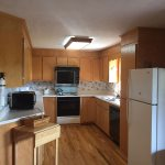 Upstairs kitchen- Ocoee River cabin rentals