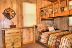 Upstairs bedroom 2- Ocoee River cabin rentals