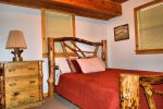 lower bedroom 2-Ocoee River cabin rentals
