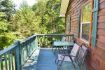 Toccoa river cabin rentals-full bath upstairs