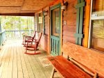 Toccoa river cabin rentals-rear view
